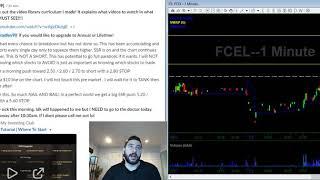 01/02/2020 Stock Trading Watch List   SAVA FCEL SES SVRA   Stocks In Play