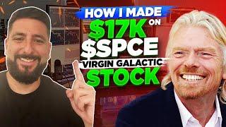 +$17K | SELL THE NEWS SETUP on $SPCE Virgin Galactic EXPLAINED!*