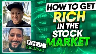 +$20.1K | SECRETS REVEALED | How To Get Rich In The Stock Market THE RIGHT WAY w/ Bao & Alex*