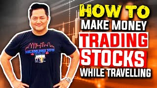 21 Year Old MIC Member NOAH Explains How To Start Trading | How To Make Money While TRAVELING w/ Bao