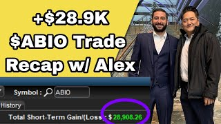 +$28.9K ABIO Low Hanging Fruit Trade Recap | +$249.7K May 2020 Review w/ Alex Temiz