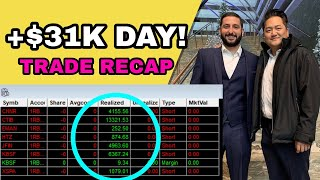 +31K Day!!!! | $CHNR $KBSF $JFIN $CTIB | Short Squeeze TRADE RECAPS w/ Alex Temiz