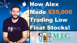 +$35K Week Trading LOW FLOAT STOCKS!