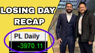 -$3.9K LOSING DAY | 3 Month Win Streak ENDS | CETX & DGLY Short Squeeze EXPLAINED!