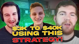 $3K To $40K Using This Options Strategy | Oren | After Hours Podcast*