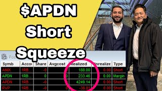 +$4.6K Day | $APDN Short Squeeze Trade Recap EXPLAINED | Alex's Trading Vlog