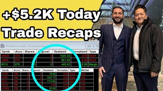 +$5.2K Today | Trading After A Vacation | GNUS AYRO LMFA SOLO Trade Recaps w/ Alex Temiz!