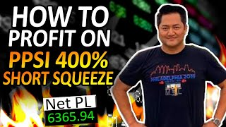 +$6.3K | Secrets To Becoming A Profitable Day Trader In 2020 | $PPSI Short Squeeze EXPLAINED w/ Bao