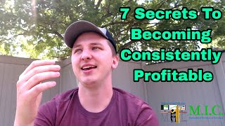 7 Secrets To Becoming a Consistently Profitable Trader In The Stock Market w/ Joe Kelly