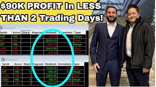 +$90K | How To PROFIT When The Stock Market Goes DOWN | APT LAKE CODX Sector Plays Alex Temiz REACP