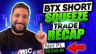 +$9.5K | MIC FREE TRIAL | $BTX Trade Recap | $RHE Runner Analysis | SMALL CAP MARKET IS BACK?! *