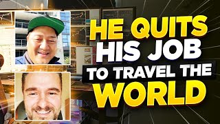 Crypto Currency Trader QUITS HIS JOB & TRAVELS THE WORLD BECAUSE OF DAY TRADING | Steven Hanson*