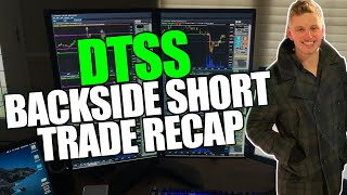 DTSS Backside Short Trade Recap James Freedlender
