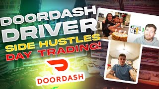 DoorDash Driver Makes A Side Hustle Day Trading | George S GSE224 | After Hours Podcast*