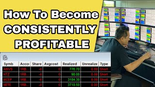 How To Become A Consistently Profitable Trader In 3 MONTHS Like Vick | STEP BY STEP PROCESS REVEALED