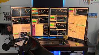 How To Fix FOMO On MONDAY Day Trading w/ Alex Temiz | Secrets About SIZE Revealed