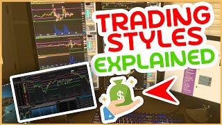 How To Identify THE MEAT OF THE MOVE  Different Trading Styles w Tom Diesel