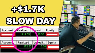 How To Make $1.7K On A SLOW DAY | How To Level Up In Trading w/ Bao & Alex