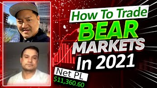 How To Prepare / Trade BEAR MARKETS Coming In 2021 | Risk Management Tips EXPLAINED!*