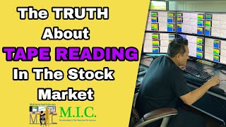 How To Read Tape In The Stock Market | The Truth About TAPE READING!!!