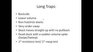 How To Spot A LONG TRAP w/ Harry Hoss*
