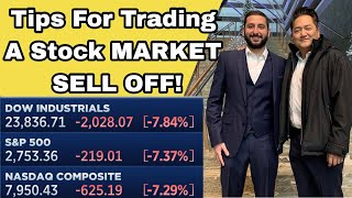 How To Trade During A MARKET SELL-OFF! – Alex Temiz Recap