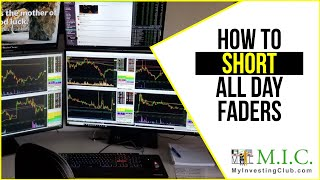 How to Short ALL DAY FADERS in the Stock Market