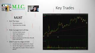 Key Trades MLNT | Market Sentiment Currently | MIC Strategy Webinar | Ep. 6