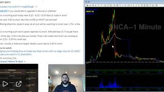Midday Offering Lesson | Video Watch List | 01/23/20 | NVAX OSS NTRP GNPX CODX RBZ Stocks In Play