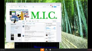 One Month Anniversary of MIC Webinar!!!!