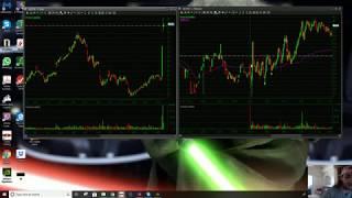 QCOM Large Cap | MBIO Small Cap Trade Recaps | AlohaTrader
