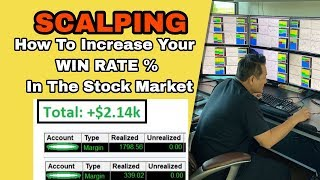 SCALPING: How To Increase Your Win Rate % In The Stock Market!