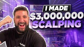 SECRET TO MAKE MILLIONS SCALPING IN THE STOCK MARKET w/ ALEX TEMIZ*