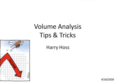 How I Use Volume | Harry Hoss