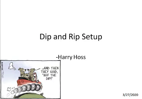 Dip and Rip Long Trading Strategy | Harry Hoss
