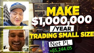 Secret Strategy To Make $1,000,000/Year Day Trading Stocks From Home w/ Modern_Rock*