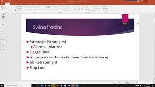 Swing Trading 101 | Spanish-Only | Claudio Soriano*