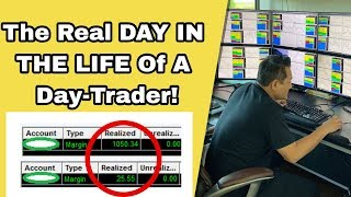 The Real DAY IN THE LIFE Of A Day-Trader!