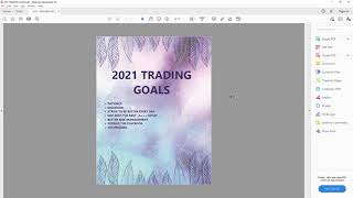 Trading Goals | Things To Improve On In 2021 w/ TomDiesel*