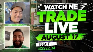 Watch Bao & Alex TRADE LIVE Together on August 17 | BootCamp Announcement + Giveaways!*