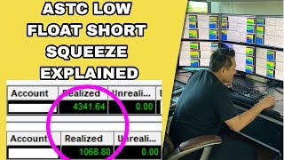 When To WALK AWAY After You Make Money Trading | ASTC Low Float Trade Recap