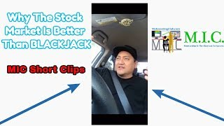 Why The Stock Market Is Better Than BLACKJACK | MIC Short Clips