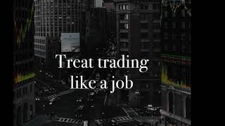 Why You NEED To Treat Trading LIKE A JOB w/ James Freedlender*